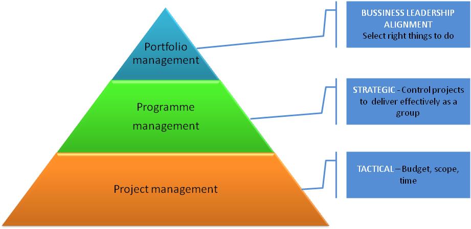 program a portfolio management jak ř237dit projekty ve
